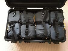 NEW Waterproof Camera Trolley Wheels =1510 flight +8 KATA Padded Lens Bag Cases