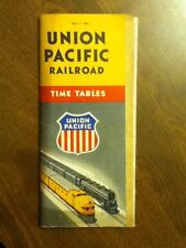 3 Different 1949 Union Pacific Railroad Time Table Timetable Schedule Pick ONE
