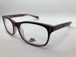 NEW Nike NIKE 7224 Eyeglasses 440 Satin Purple 53.17.140 Women's Frames