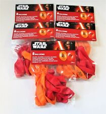 Pack of 40 Star Wars The Force Awakens Latex Balloons - Marvel Party Balloon