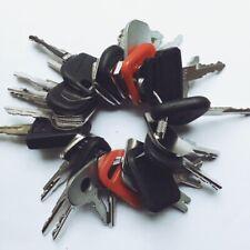 32 Keys Construction Ignition Heavy Equipment Key Set Cat Case Volvo Jcb Deere
