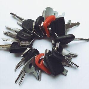 32 keys Construction Ignition / Heavy Equipment Key Set CAT Case volvo JCB Deere