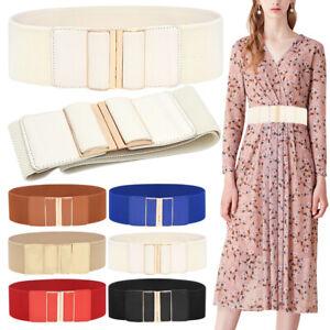 Stretch Elastic Corset Wide Belts Lady Dress Clothing Decoration waist trainer