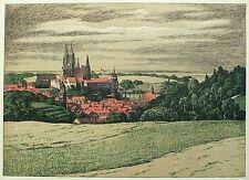ARTHUR JULIUS BARTH - Meissen / Meißen - Farblithografie um 1915