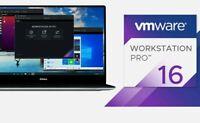 VMware Workstation 16 Pro Full version official link