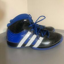 Adidas Boys Shoes Basketball Ortholite CLI 037001 Black/Blue Size 7 Athletic