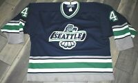 Vintage Seattle Thunderbirds Nathan Forster #4 Hockey Game Jersey MENS LARGE