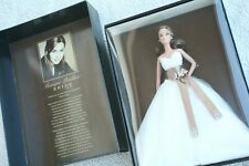 Monique Lhuillier novia Muñeca Barbie 2006 oro etiqueta Mattel #j0960 Mint Nrfb