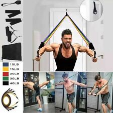 11pcs resistance bands set For Home Workout Exercise Yoga Crossfit Fitness Abs