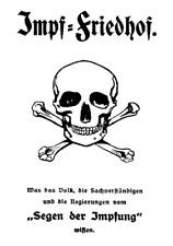 Impf-Friedhof von Hugo Wegener ( Impfen Impfung Impfschaden )