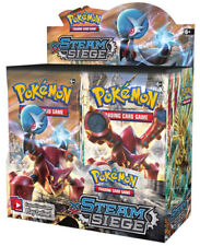 Pokemon Cards XY Steam Siege 18 Booster Pack Lot 1/2 Booster Box TCG Card Game