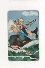Playing Swap Cards 1 Japanese  Nintendo 1960's Popeye 3/4 Size A152