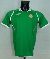 NORTHERN IRELAND NATIONAL FOOTBALL SHIRT UMBRO  SIZE XLB - XS VGC