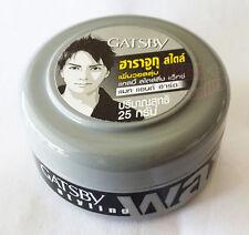GATSBY Wax Mat + Hard Gel Hair Shine free Japan Series For Men Styling 25 g size