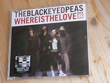 The Black Eyed Peas-Where is the love? * 3 Track MCD + Video * a&m Rec. 2003