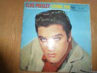 ELVIS PRESLEY/LOVING YOU RCA RC24001 DATED 1957 GB PRESSING H2WL-2762-IB VGC