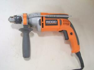 Ridgid R5013 1/2'' Reversible Hammer Drill 7.5A with Ridgid Case Bag