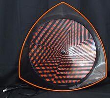 Rabbit Tanaka Retro VTG 90s Optical Illusion Moving Psychedelic Disk Wall Decor