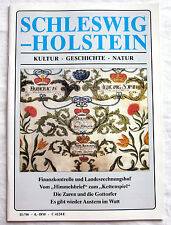SCHLESWIG-HOLSTEIN - Zeitschrift Kultur - Geschichte - Natur 11/96
