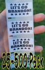 "Внешний вид - ""LETS GO BRANDON"" 25-500 Pack stickers anti decals IMPEACH go joe biden let's"