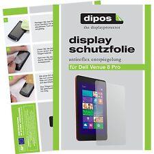1x Dell Venue 8 Pro Schutzfolie matt Displayschutzfolie Folie dipos Displayfolie