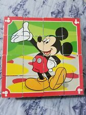 Melissa & Doug  --  Mickey Mouse Clubhouse Wooden Cube    6-in-1 Puzzle