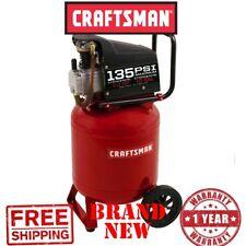 New CRAFTSMAN 10gal Gallon 1.0 HP Oil-Lube Portable AIR COMPRESSOR 135 Max PSI