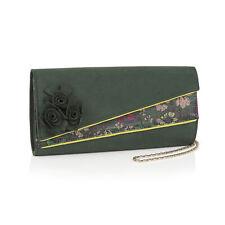 Ruby Shoo Banbury Clutch Bag Forest Green Matches Ashley