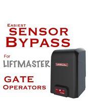 Sensor Bypass For Liftmaster Gate Operators