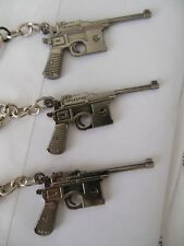 Mauser C96 German Pistol--(( 9 mm ))--Keychain** { Lot-of-3 }**Free  Shipping***