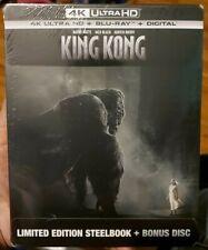 New Listing4K King Kong 2005 Steelbook (4K Uhd/Blu Ray/Digital) *Brand New, Sealed*