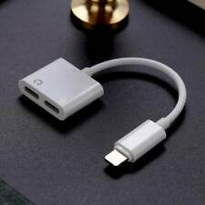 2 In1 Phone Lightning Adapter Cable Audio Splitter Charge For Apple IPhone IMV