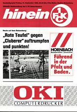 BL 90/91 1. FC Kaiserslautern - 1. FC Nürnberg, 14.09.1990