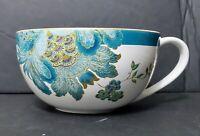 222 Fifth Eliza Teal Jumbo Soup Mug