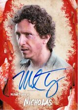 The Walking Dead Survival Box Autograph Card Michael Traynor As Nicholas