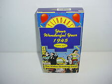 Flikbaks Your Wonderful Year 1945 Happy 50th VHS Video Tape Movie