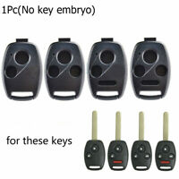 Buttons Car Remote Key Shell Case Replacement Fob For Honda Accord Civic CR-V