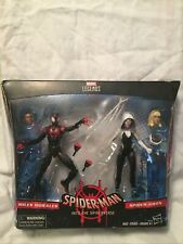 MILES MORALES SPIDER-GWEN INTO THE SPIDERVERSE TARGET 2 Pack MARVEL LEGENDS