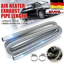 Für Air Heater Diesel Standheizung Abgasrohr 250cm Edelstahl Abgasschlauch Φ25mm