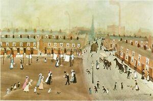 Mounted Print. Helen Bradley. Going to Great-Aunt Buckley's