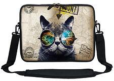 """12"""" Laptop Computer Sleeve Case Bag w Hidden Handle & Shoulder Strap  3101"""