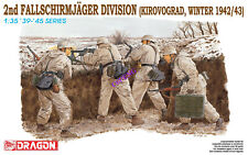 Dragon WWII 2nd Fallschirmjager Division Winter 1942-42 Figures 1/35 6157 St
