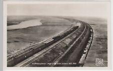 (74086) Foto AK Hindenburgdamm mit Personenzug 1938
