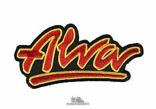 Alva Classic OG Logo Skateboard Patch 4in