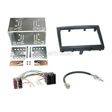 Porsche Boxster 987 04-08 2-DIN Autoradio Einbauset Adapter Kabel Radioblende