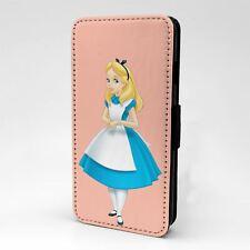 Para Funda para Estuche Abatible Apple iPod Touch Alicia en el país de las maravillas-T1162