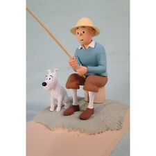 Extremely Rare! Tintin with Snowy Fishing LE of 500 Figurine Statue
