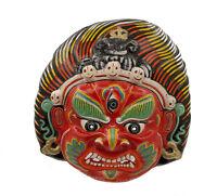 Maschera Nepalese Stephanie Bhairab Indra Jatra Festival Nepal Carta Mache 2321