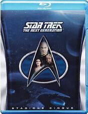 STAR TREK THE NEXT GENERATION - saison 5 Blu ray  NEUF §