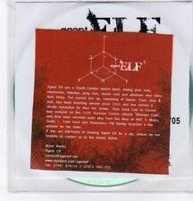 (BO797) Agent Elf, Cubed EP - 2008 DJ CD